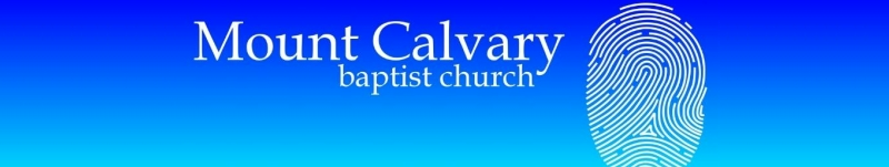 Mount Calvary Baptist Church - Charleston WV